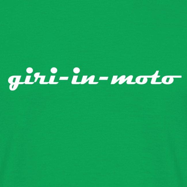 GIRI IN MOTO LIFESTYLE RACING BIANCO