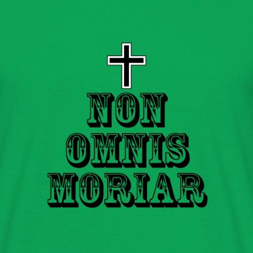 Latin t-shirts Non omnis moriar