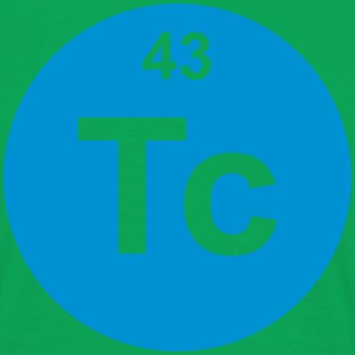 Technetium (Tc) (element 43) - Men's T-Shirt