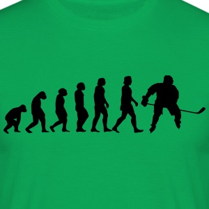 evolutie hockey - Mannen T-shirt