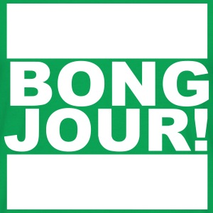 BONGJOUR! - T-skjorte for menn