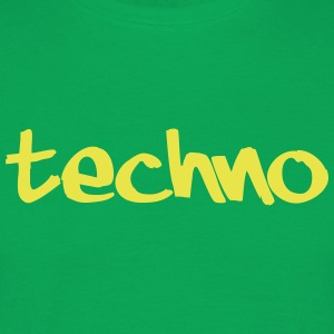Techno - Herre-T-shirt