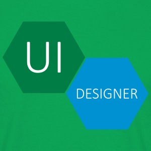 UI Designer User Interface - Koszulka męska