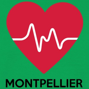 coeur Montpellier - T-shirt Homme