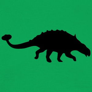 Dinosaur vector Silhouette - Men's T-Shirt