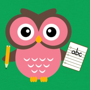 Back to School Owl - Men's T-Shirt