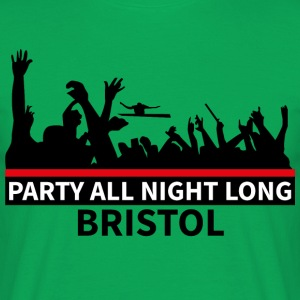 BRISTOL - Party All Night Long - T-shirt herr