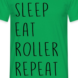 sleep_eat - Men's T-Shirt