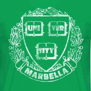 Vintage Marbella University - Men's T-Shirt