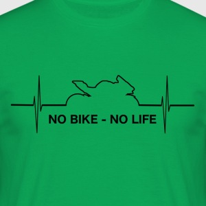 No_Bike_No_LIFE - T-skjorte for menn