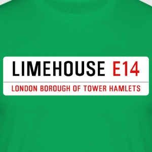 Limehouse Street Sign - Men's T-Shirt