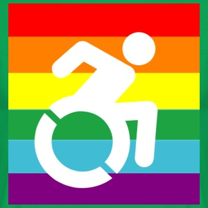 DISABLEDPROUD - Mannen T-shirt