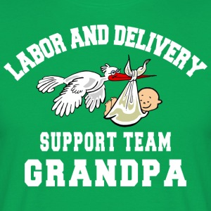Morfar Labor Delivery Support Team - T-shirt herr
