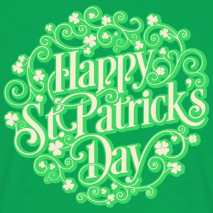 St Patricks day! St. Patricks dag! - T-skjorte for menn