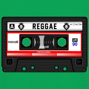 REGGAE CASSETTE - Men's T-Shirt