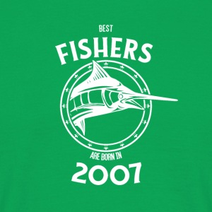 Present for fishers born in 2007 - Men's T-Shirt