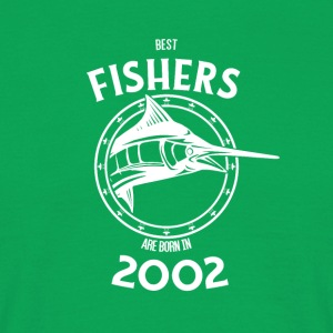 Present for fishers born in 2002 - Men's T-Shirt