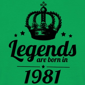 Legends 1981 - T-shirt herr