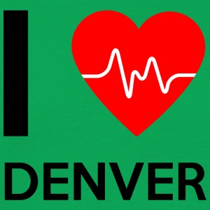 I Love Denver - I love Denver - Men's T-Shirt
