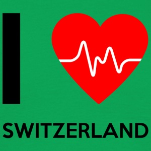 I Love Switzerland - I Love Switzerland - Men's T-Shirt