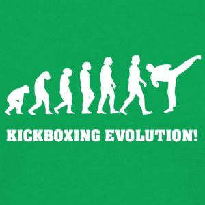 Kickboxing Evolution, gift for Kickboxer - Men's T-Shirt