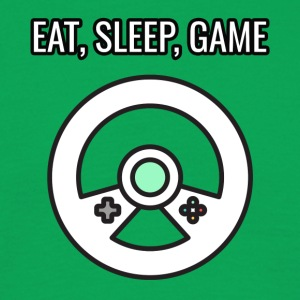 Game / Gamer / Games: Eat, Sleep, Game - Männer T-Shirt