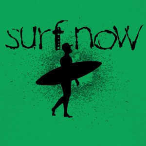 surf now surfer with cap black - Men's T-Shirt