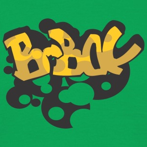 b bol graffiti - Men's T-Shirt