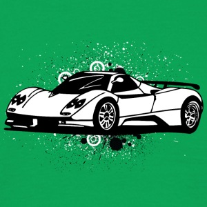 Cool supercars white - Men's T-Shirt