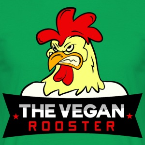 THE VEGAN ROOSTER - Herre-T-shirt