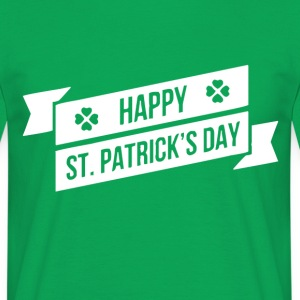 GLAD ST. PATRICKS DAY - T-shirt herr