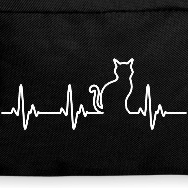 Vorschau: Ein Herz für Katzen - Rucksack