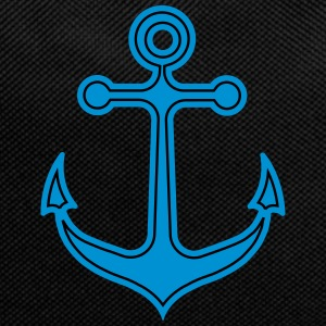 Anchor, sailing, sailboat, captain, boat harbor city - Backpack