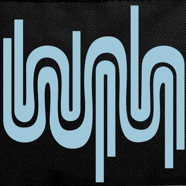 Abstrakte Welle / 70er Jahre Muster