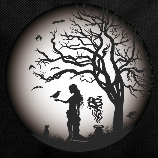 Halloween Silhouette s w