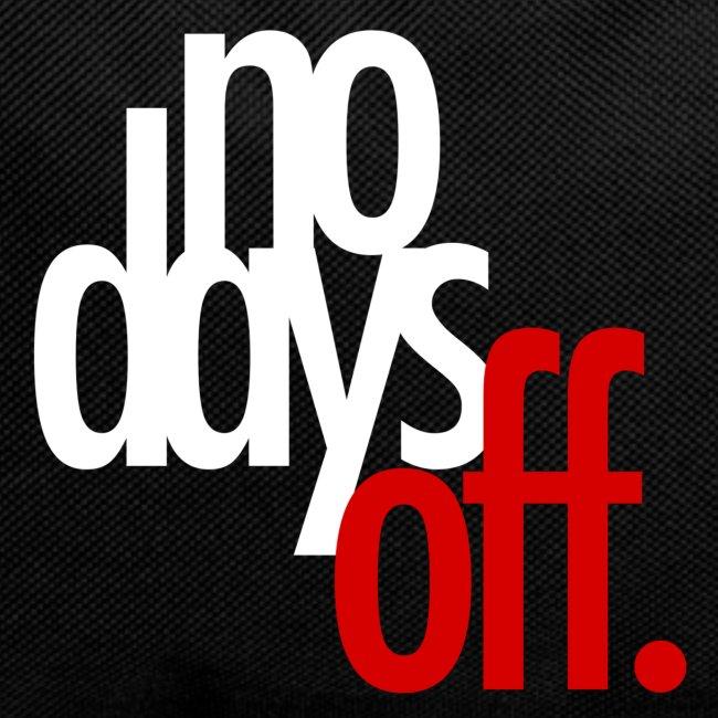 nodaysoff t shirt 2 png
