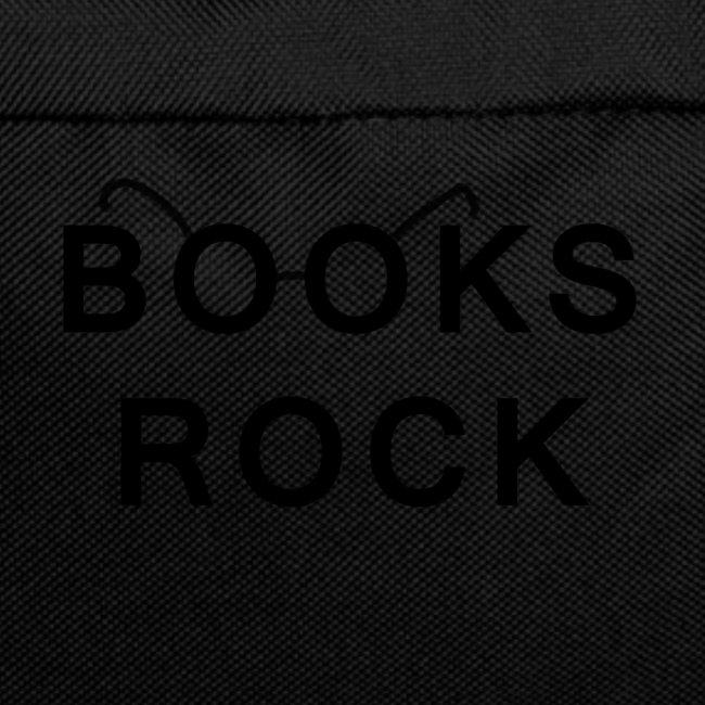 Books Rock Black