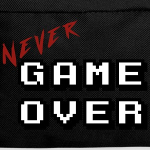 Never game over white - Backpack