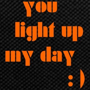 You light up my day - Backpack