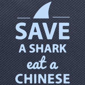 Save A SHARK EAT A CHINESE !! - Rugzak