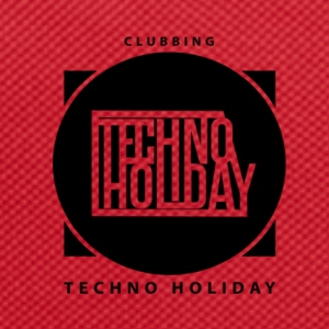 logo_techno_holiday_2017_negro1 - Backpack