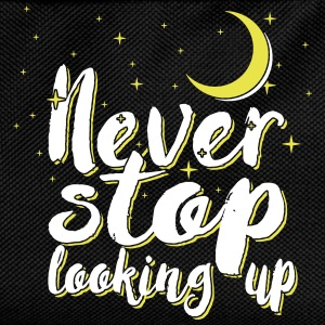 Never stop looking up - Kids' Backpack