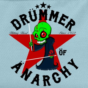 nsane Drummer - Drümmer öf Änarchy - black - Kids' Backpack