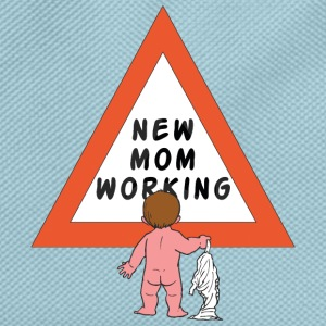 New Mom Changing Diapers - Kids' Backpack
