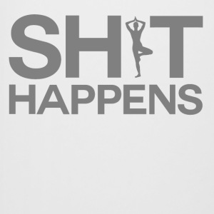 Shit Happens - Yoga - Beer Mug