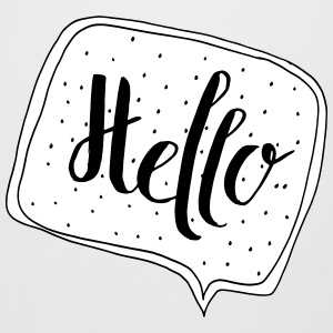 """Hello"" Speech Bubble - Ølseidel"