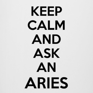 Aries Keep Calm - Bierkrug