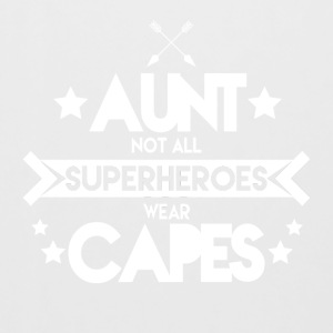 Aunt - Not all superheroes wear capes - Beer Mug