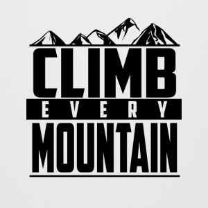 Climb every mountain - Beer Mug
