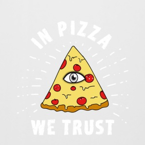 Pizza Illuminati Funny All Seeing Eye Food Humor - Bierkrug